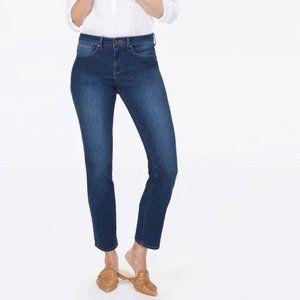 NWT NYDJ Sheri slim petite jean size 2P